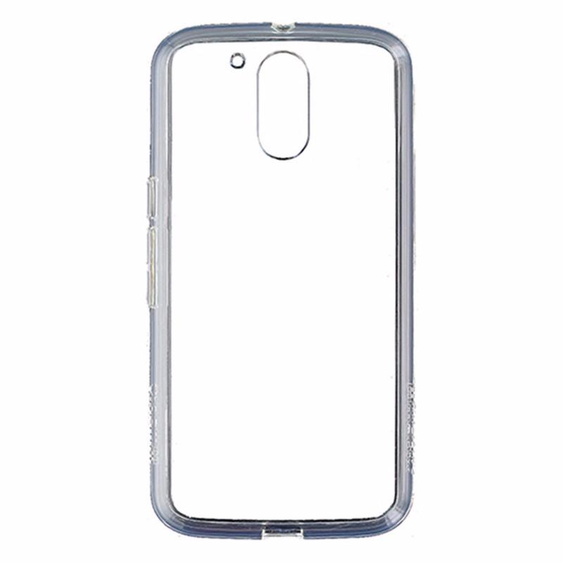 Qmadix Motorola Moto G4 C Series Ultra-Thin Clear Premium Co-Molded Case