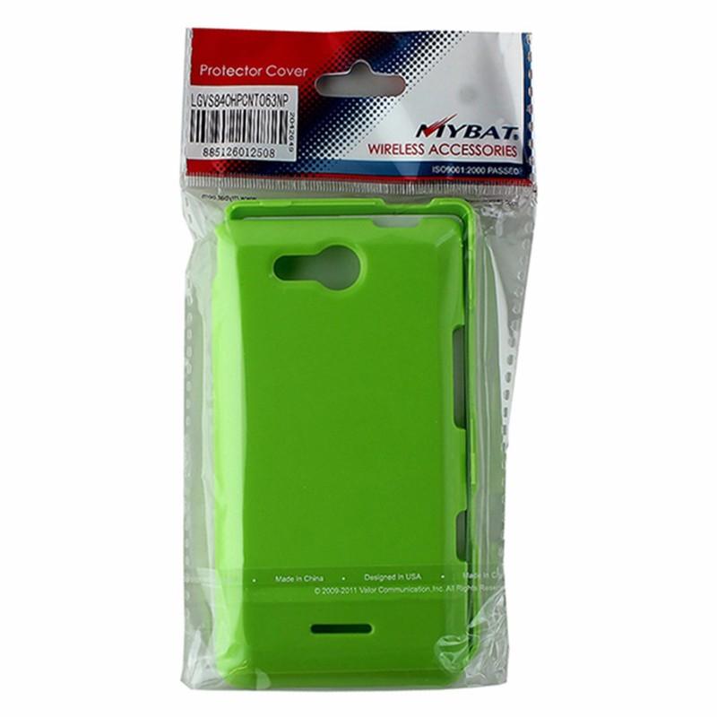 MyBat 2 Piece Hardshell Case for LG Lucid 4G VS840 - Lime Green
