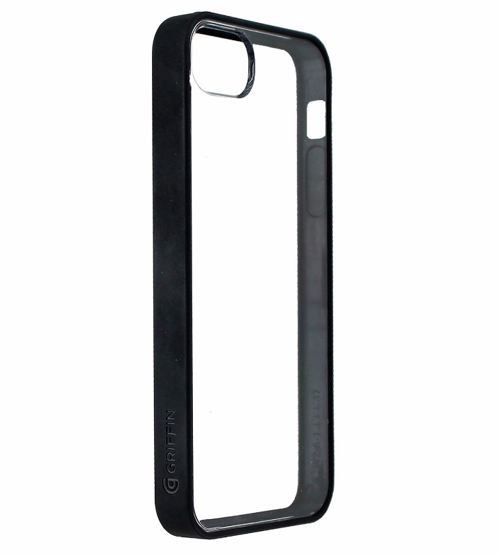 Griffin Reveal Hybrid Case for Apple iPhone 5/5s/SE - Clear / Black