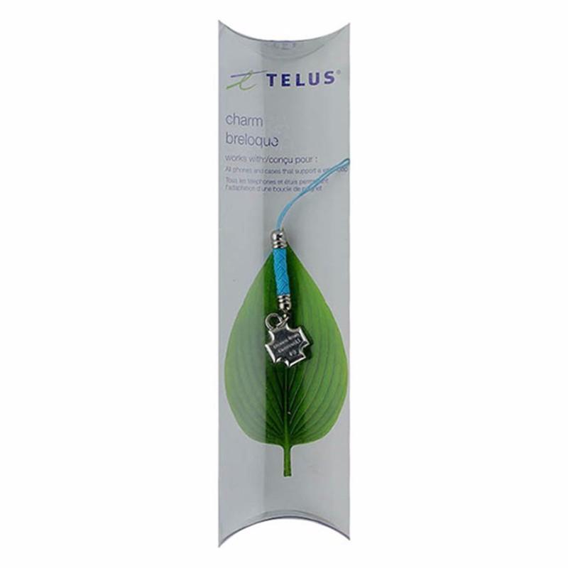 Telus Swarovski Charm Accessory - Aqua