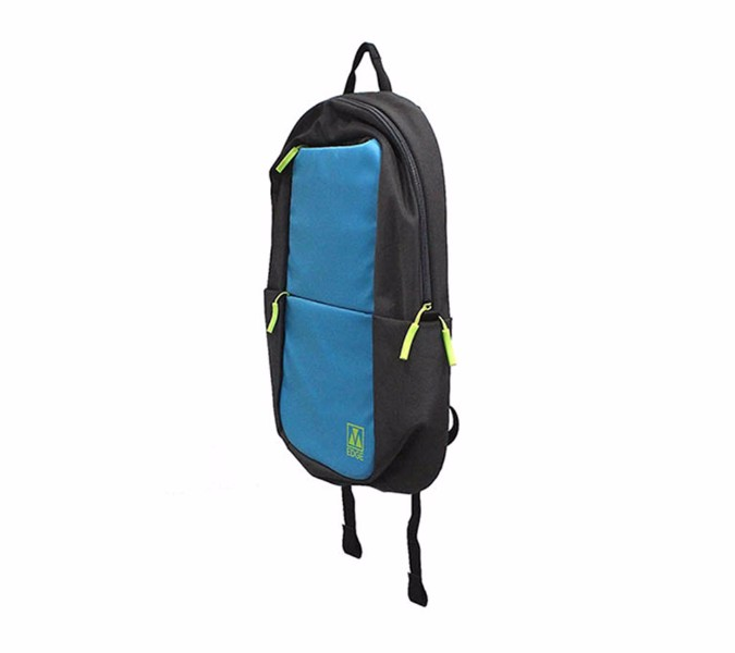 M-Edge Tech Backpack w/ Battery fits Up To 15 inch Laptops - Light Blue/Green