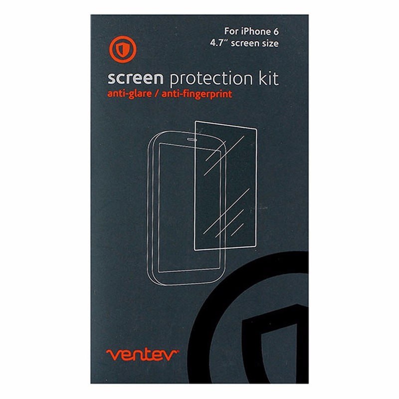 Ventev Screen Protector for iPhone 6 (4.7 inch) - Retail Packaging - Clear