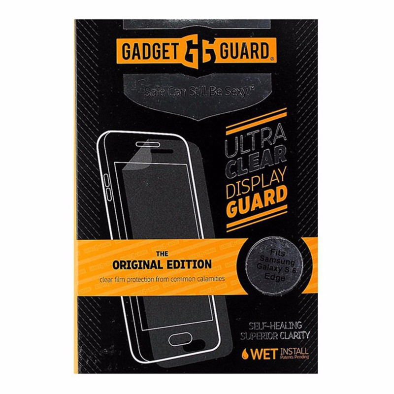 Gadget Guard Screen Protector for Samsung Galaxy S6 Edge - Clear
