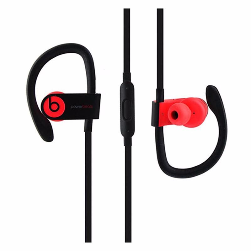 Beats Powerbeats3 Series Wireless Ear-Hook Headphones (MNLY2LL/A) - Siren Red