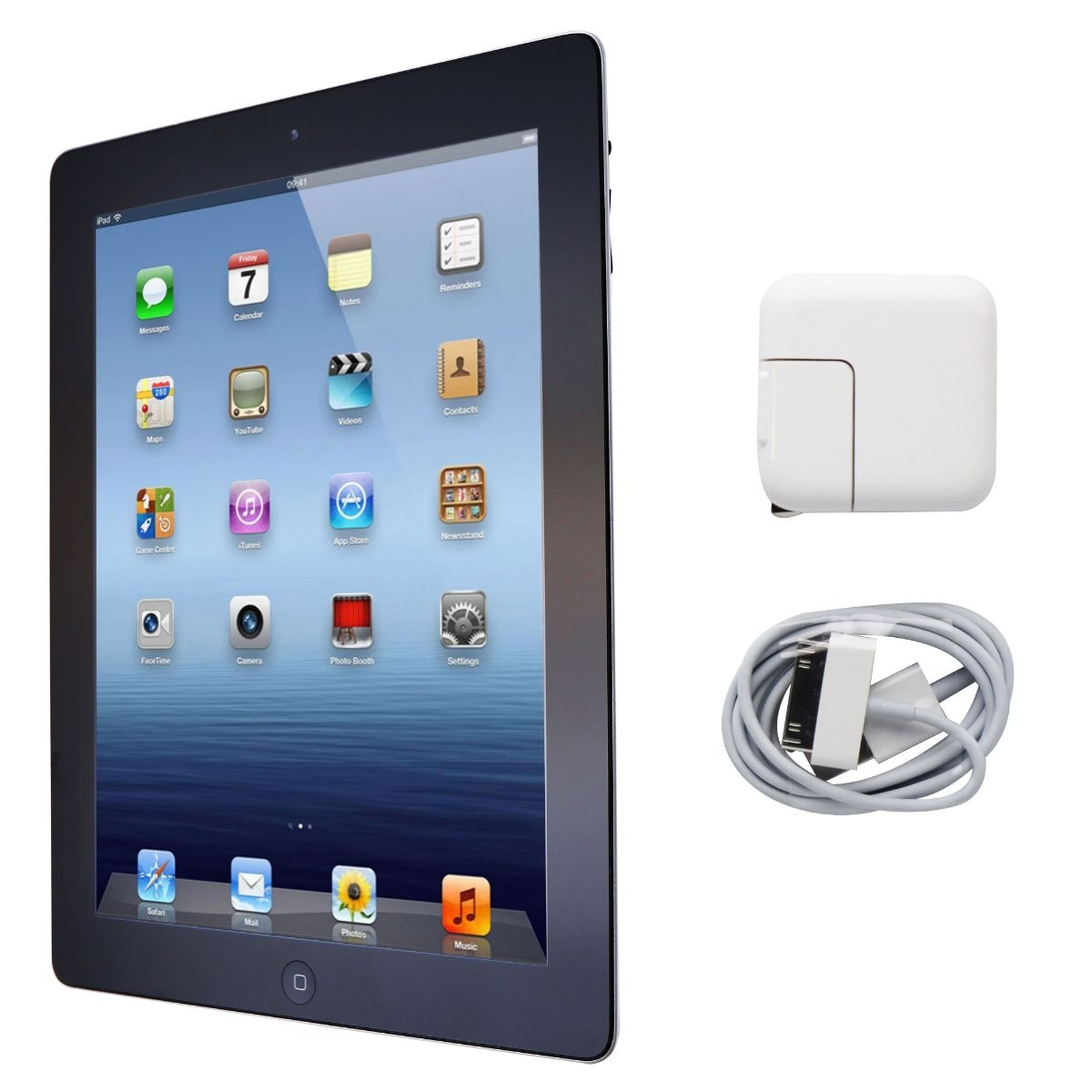 Apple iPad 9.7-inch (3rd Generation) Tablet A1416 (Wi-Fi ONLY) - 64GB / Black