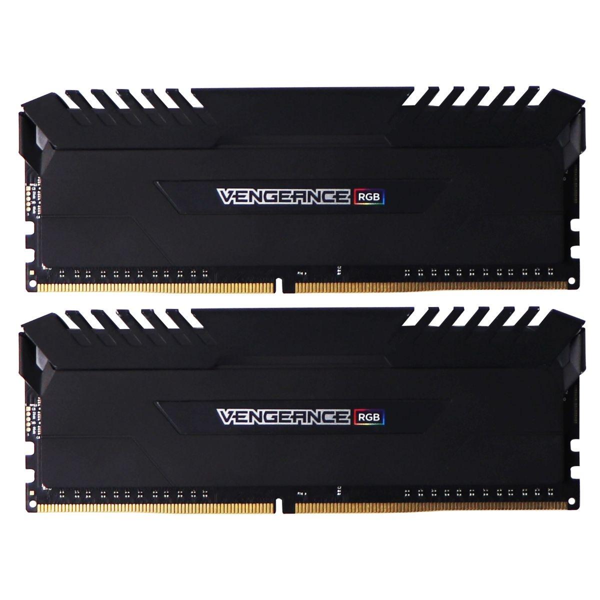 Corsair Vengeance RGB 16GB (2x8GB) DDR4 3466MHz C16 Desktop Memory - Black