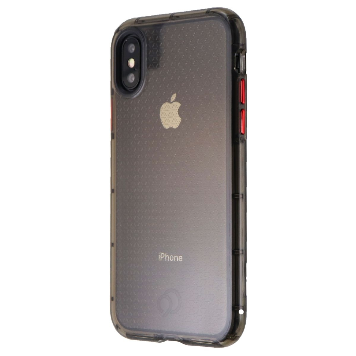 Nimbus9 Phantom 2 Slim Gel Case for Apple iPhone XS and iPhone X - Carbon Black