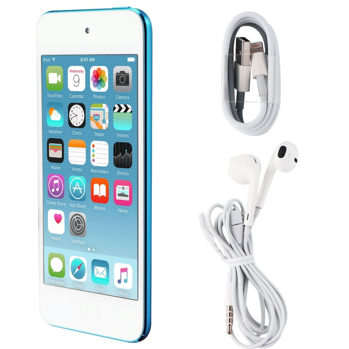 Apple iPod Touch 5th Generation (A1421) - 16GB/Blue (MGG32LL/A)