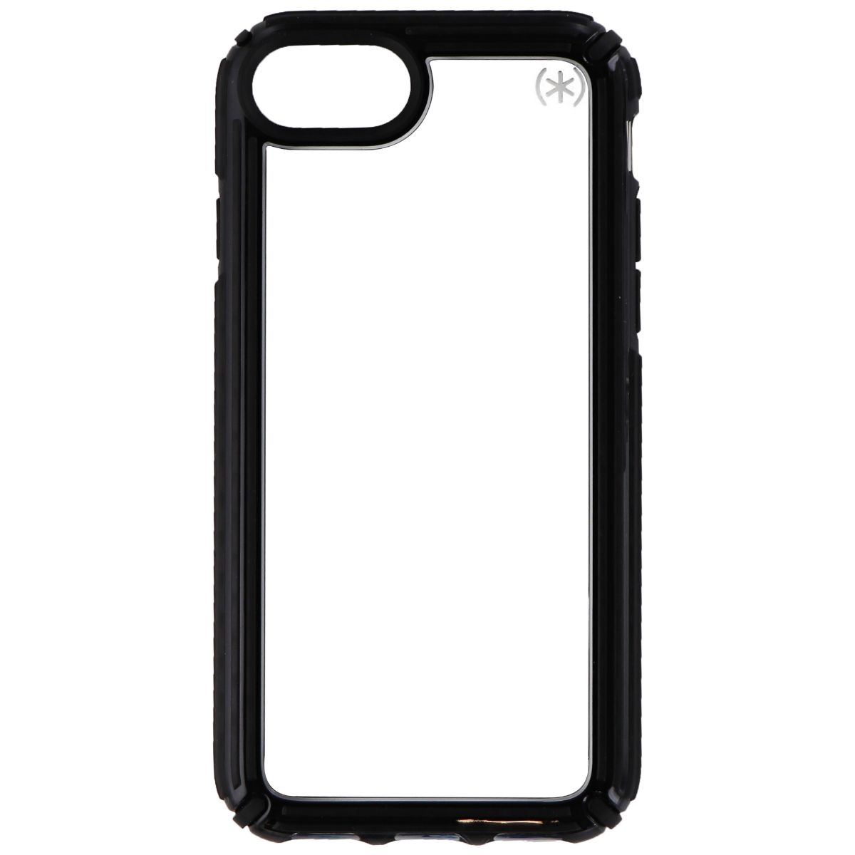 Speck Presidio V-GRIP Series Case for Apple iPhone 8 / 7 / 6s - Clear/Black