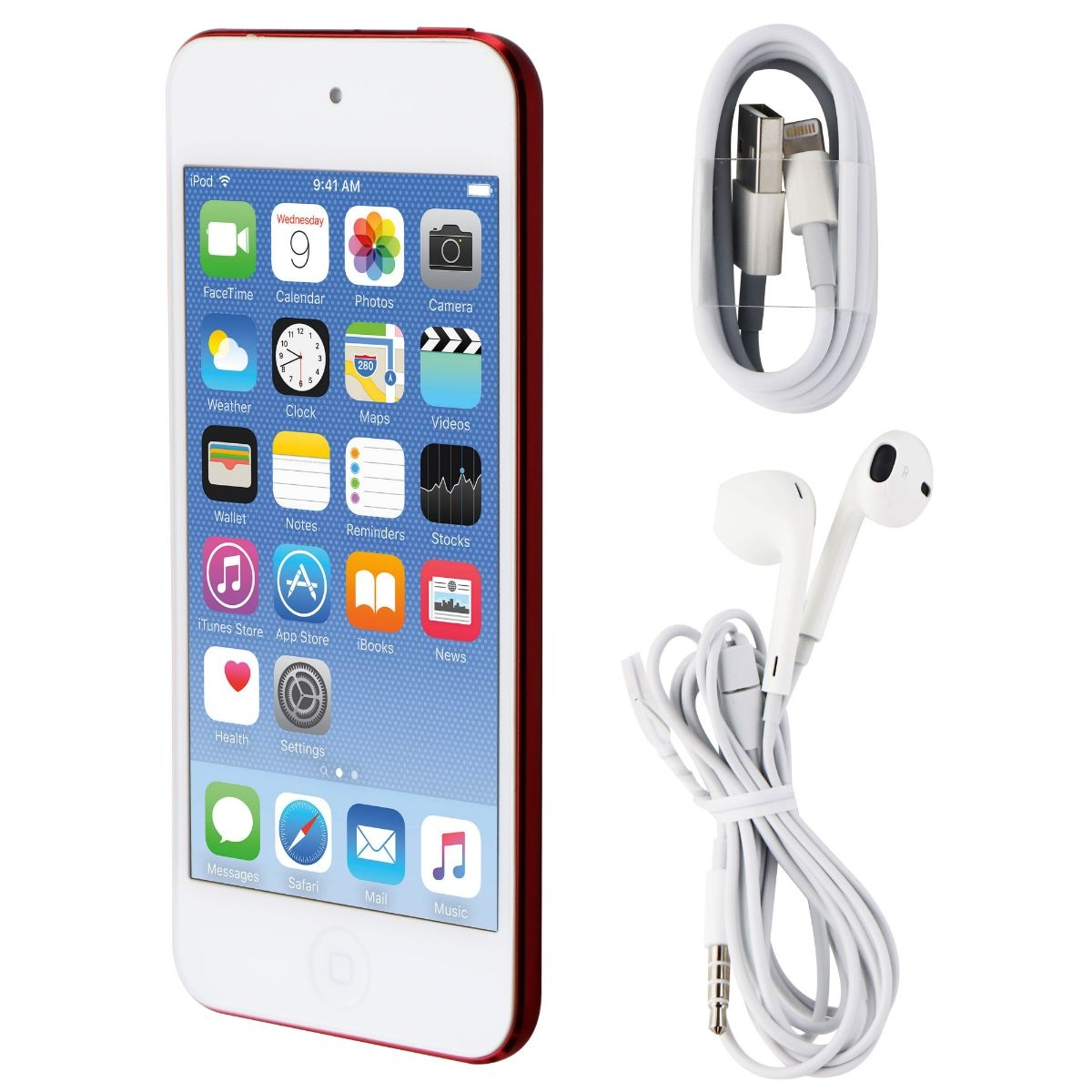 Apple iPod Touch (6th Gen) Wi-Fi Only (A1574) - MKH82LL/A - 16GB / Product Red