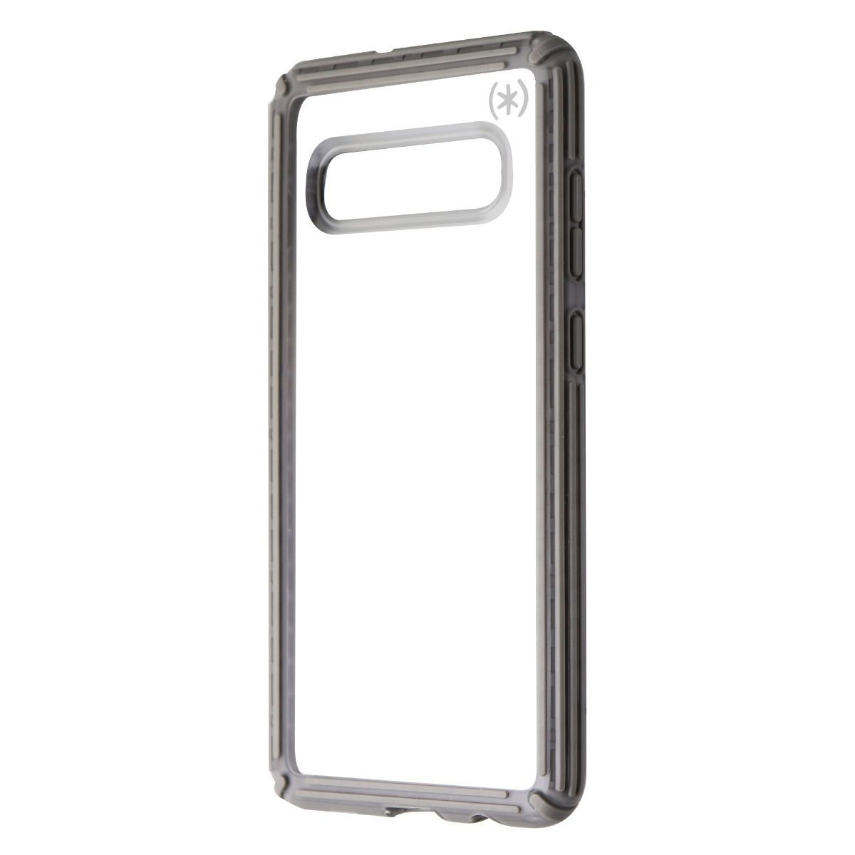 Speck Presidio V-Grip Series Case for Samsung Galaxy S10+ (Plus) - Clear / Gray