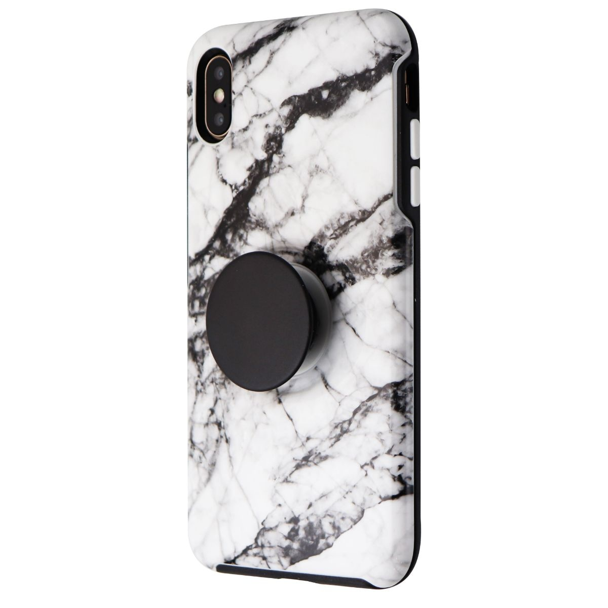 Otterbox + Pop Symmetry Series Phone Case for iPhone XS Max - White Marble
