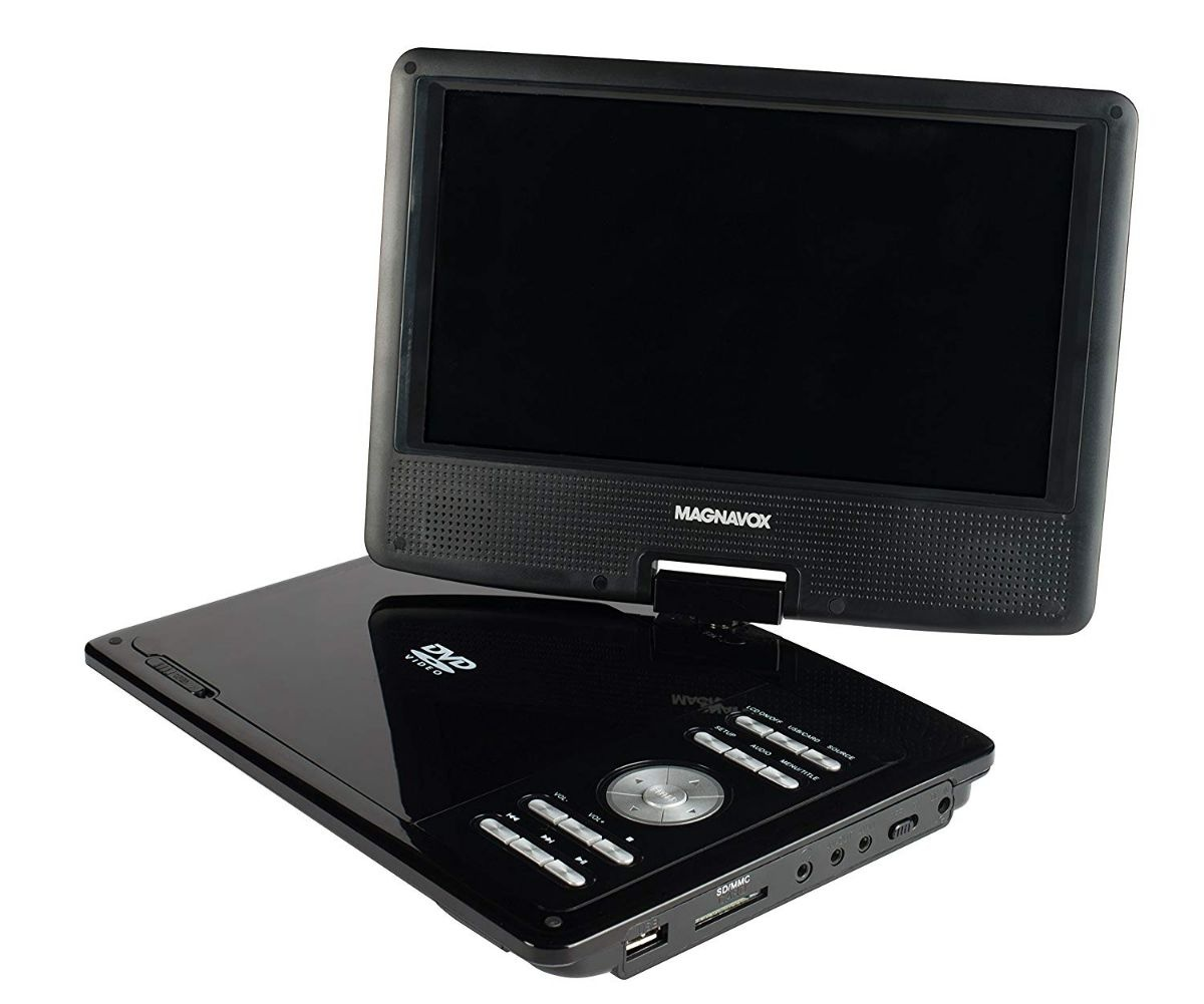 Magnavox 9 Inch TFT Swivel Screen Portable DVD/CD Player