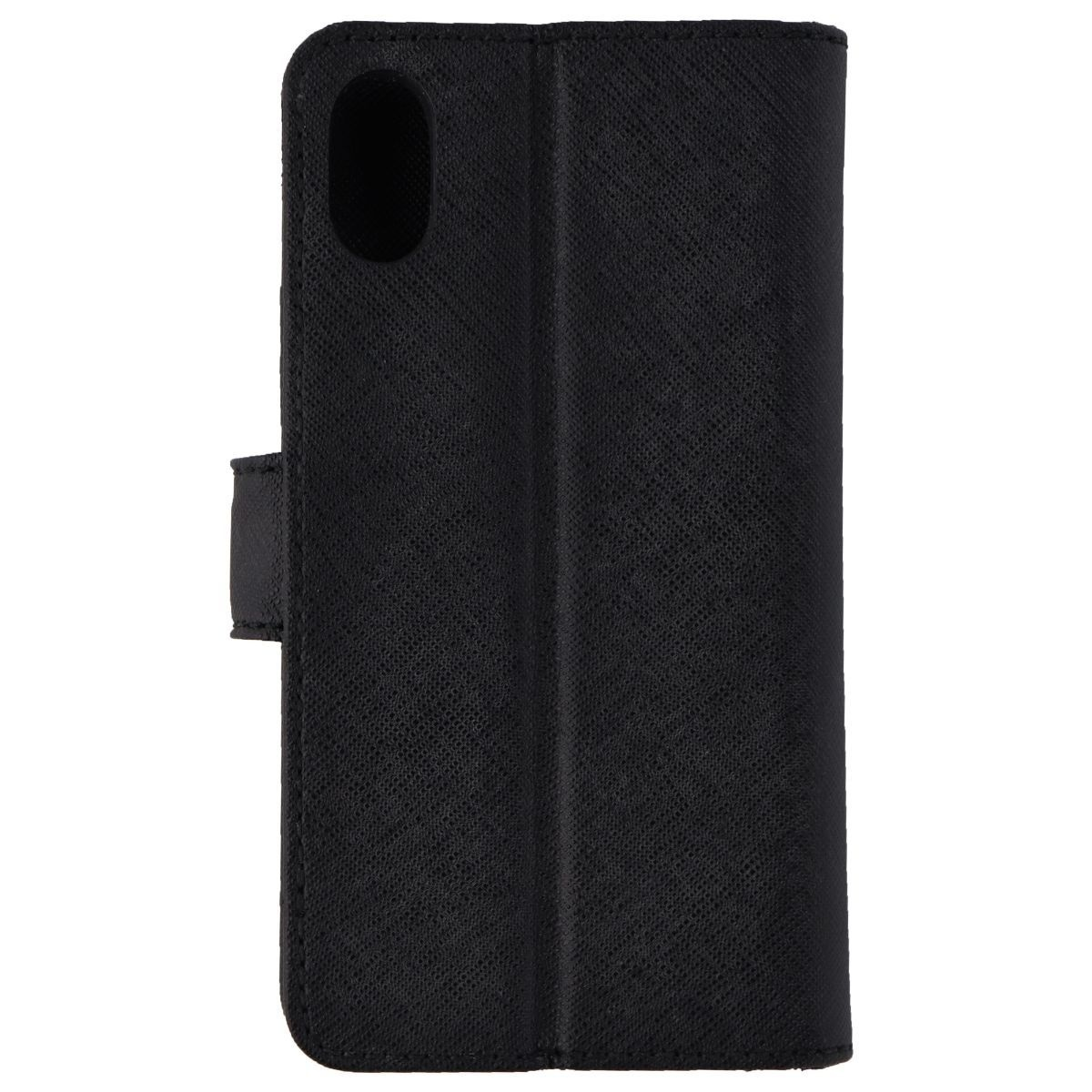 6c4aaab7b5d0 Michael Kors Saffiano Leather Folio Case for Apple iPhone XS/X - Black