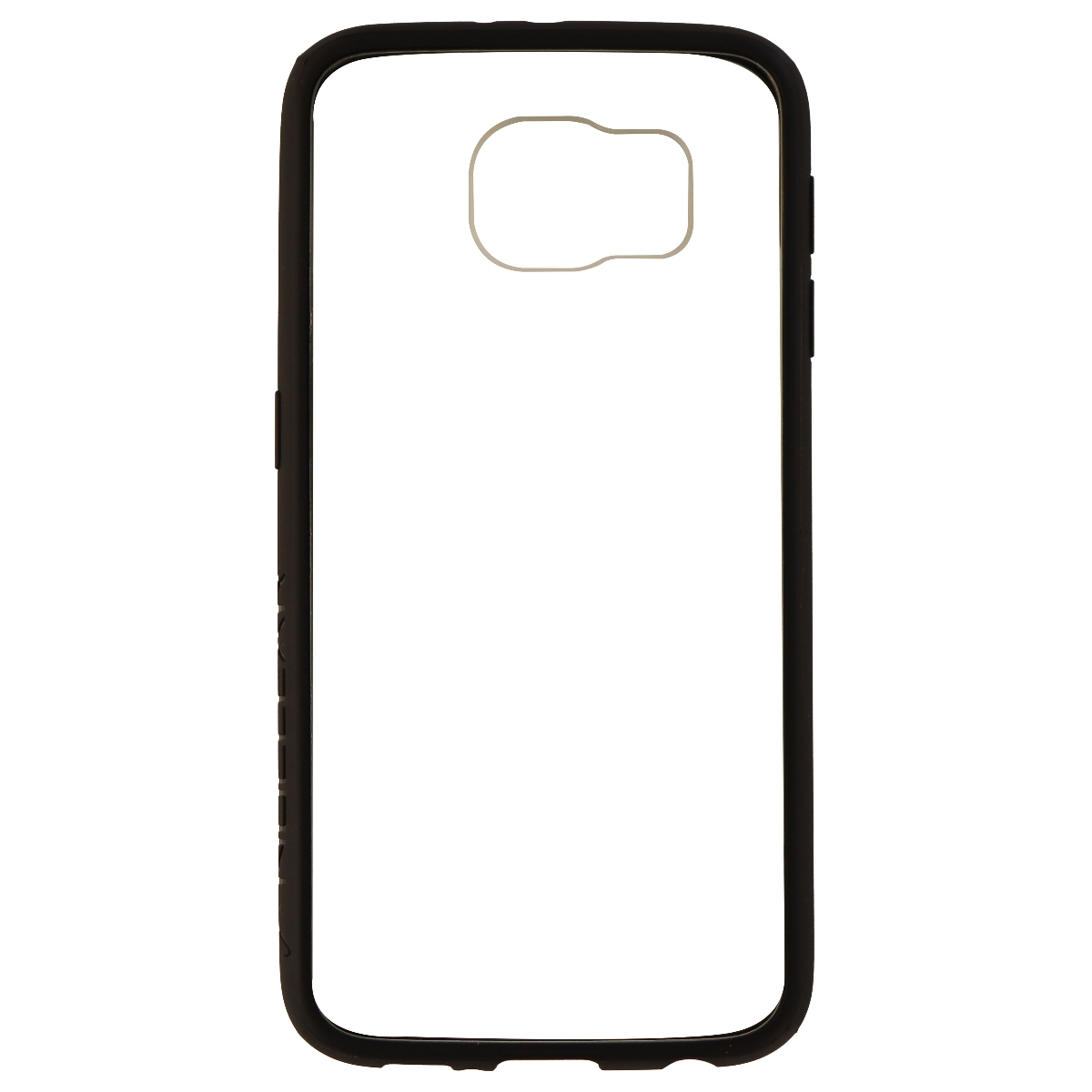 Wireless One Nuclear Series Hybrid Case for Samsung Galaxy S6 - Clear/Black