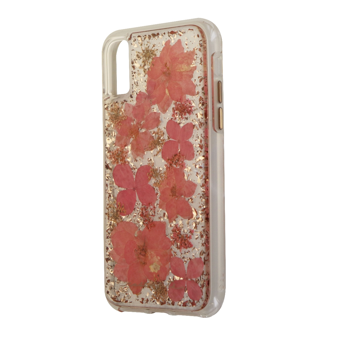 Case-Mate Karat Petals Series Hard Case for Apple iPhone X 10 - Pink Flowers