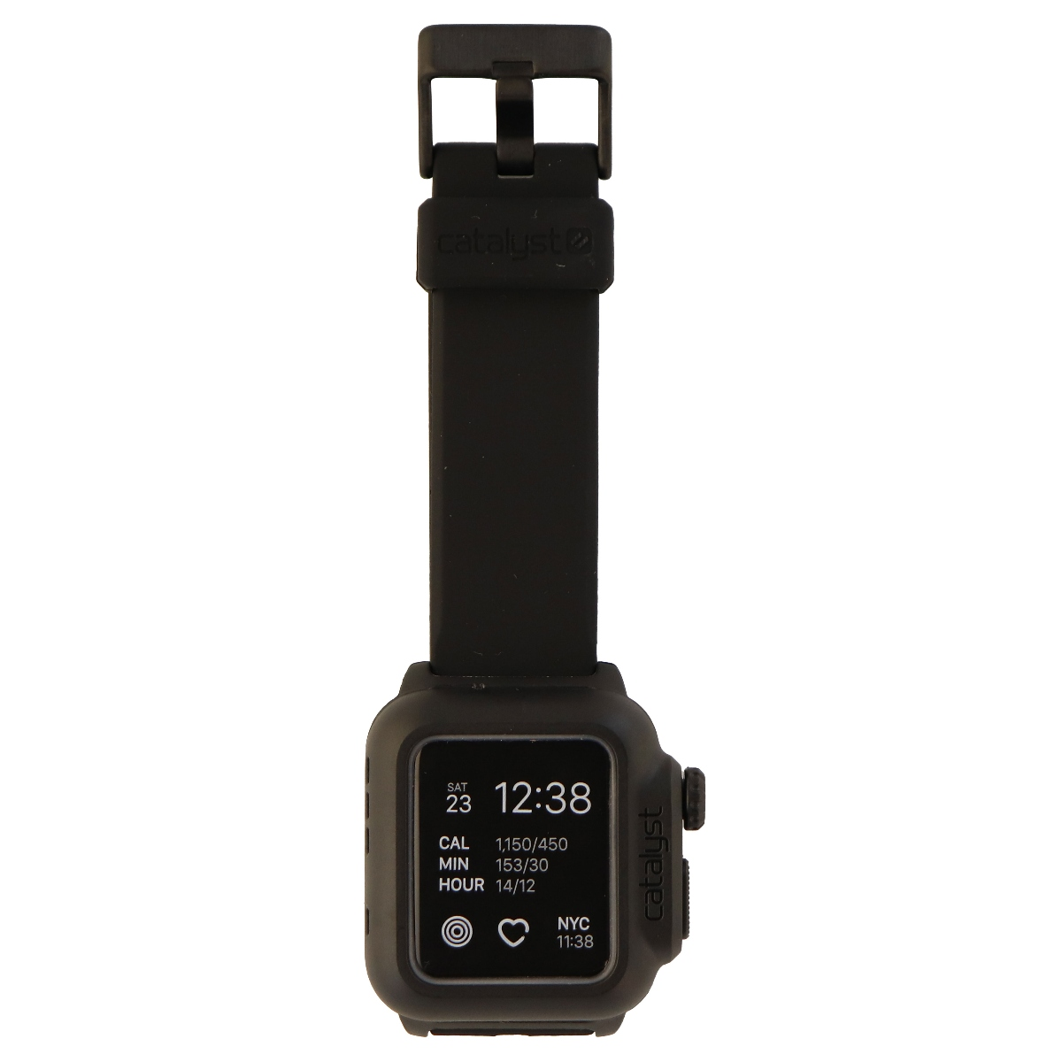on sale 99b9c 3a5f5 Catalyst Case for Apple Watch 38mm Series 2 - WaterProof - Stealth Black