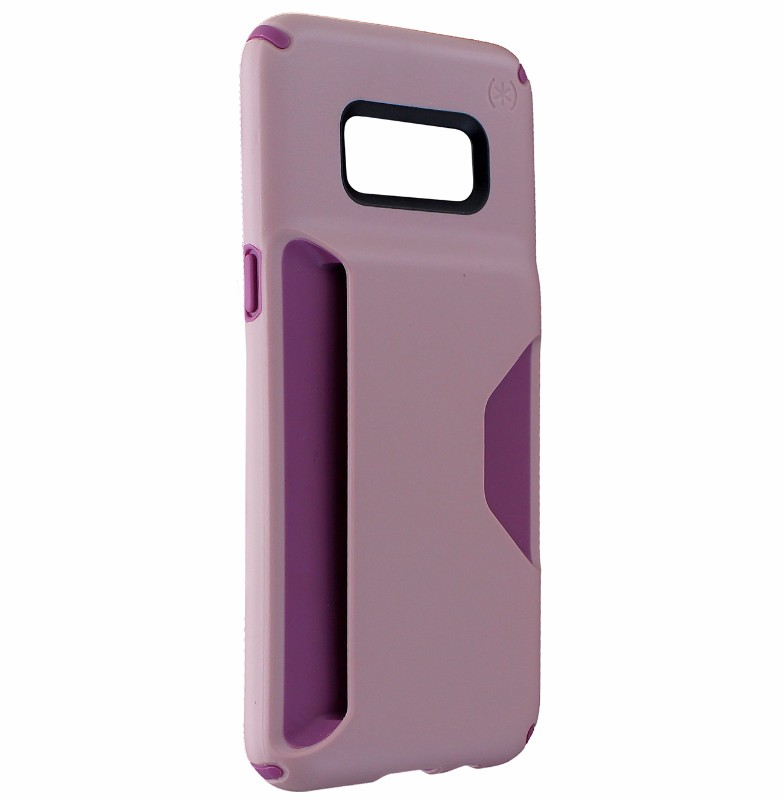 Speck Presidio Wallet Series Hard Case Cover for Samsung Galaxy S8 - Pink/Purple