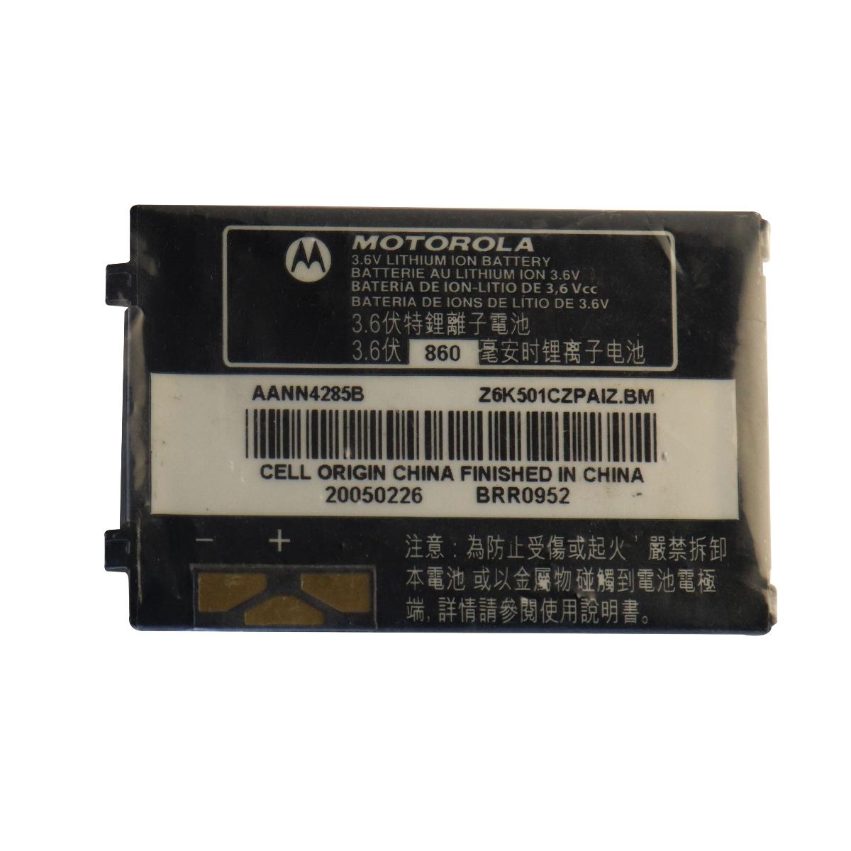 OEM Motorola AANN4285B 860 mAh Replacement Battery for Motorola V180/V188