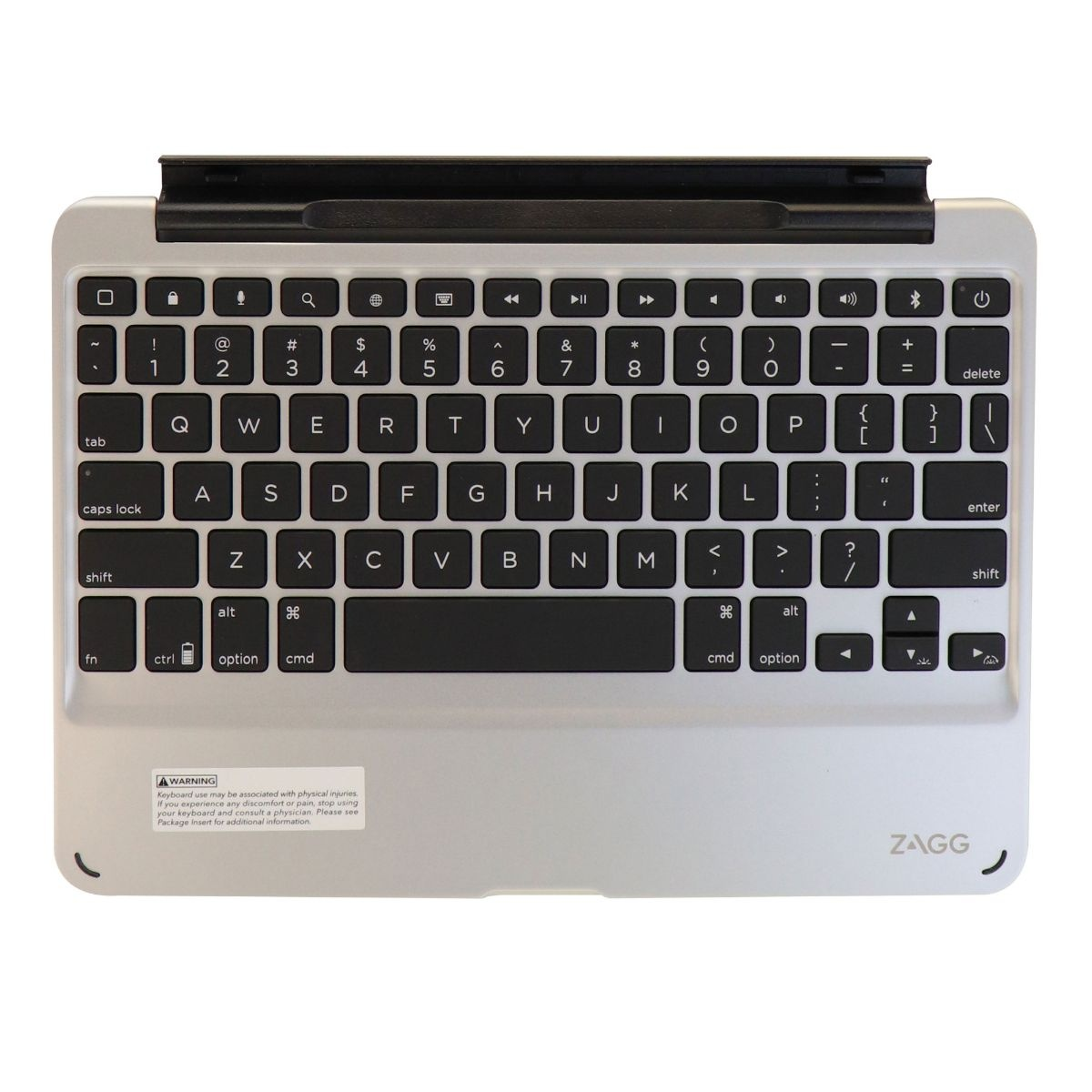 ba6067eadbb ... ZAGG Slim Book Bluetooth Keyboard Folio Case for iPad Pro 9.7 -  Black/Silver. Moving Fast! prev