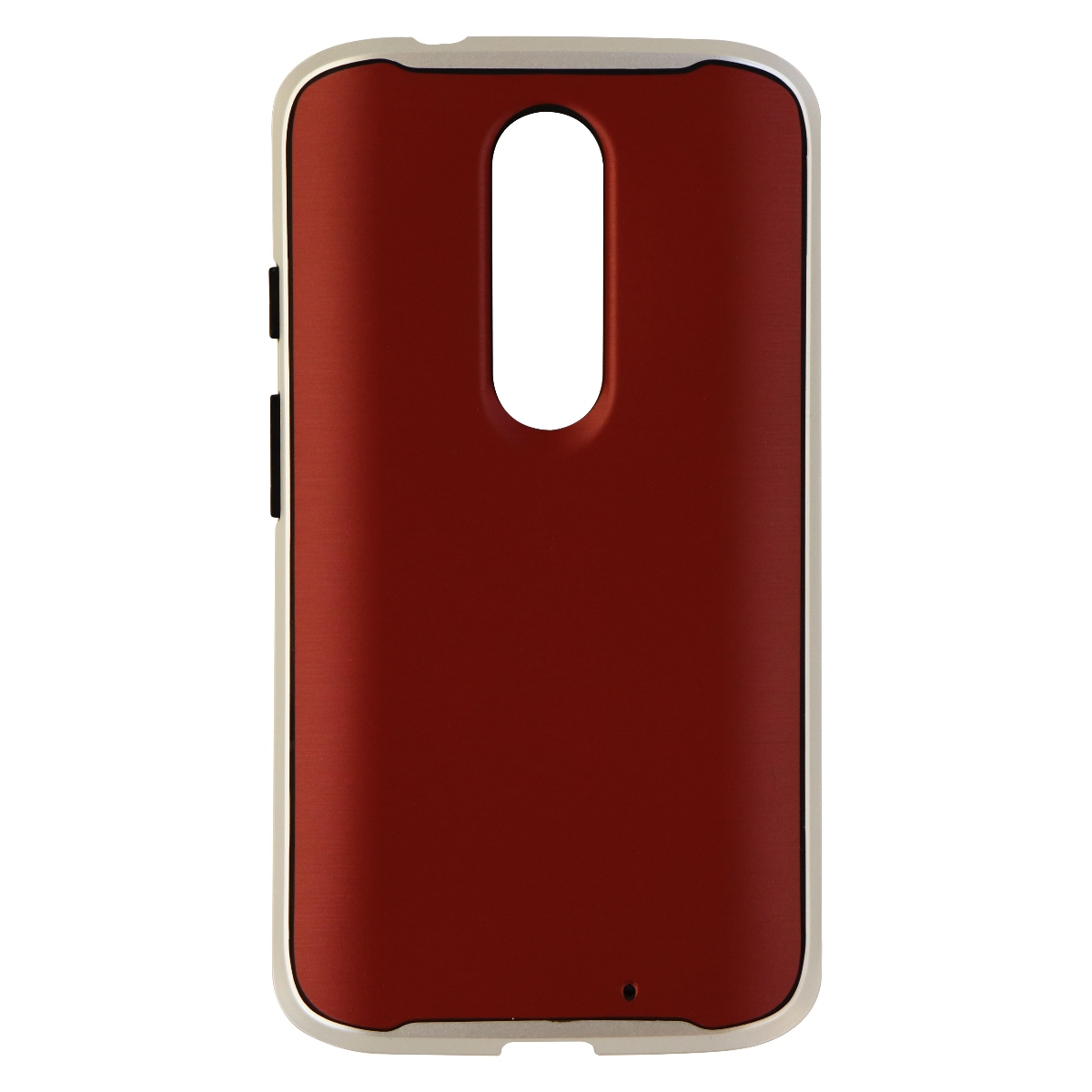 Verizon Cover Series Protective Case for Motorola Droid Turbo 2 - Red Silver