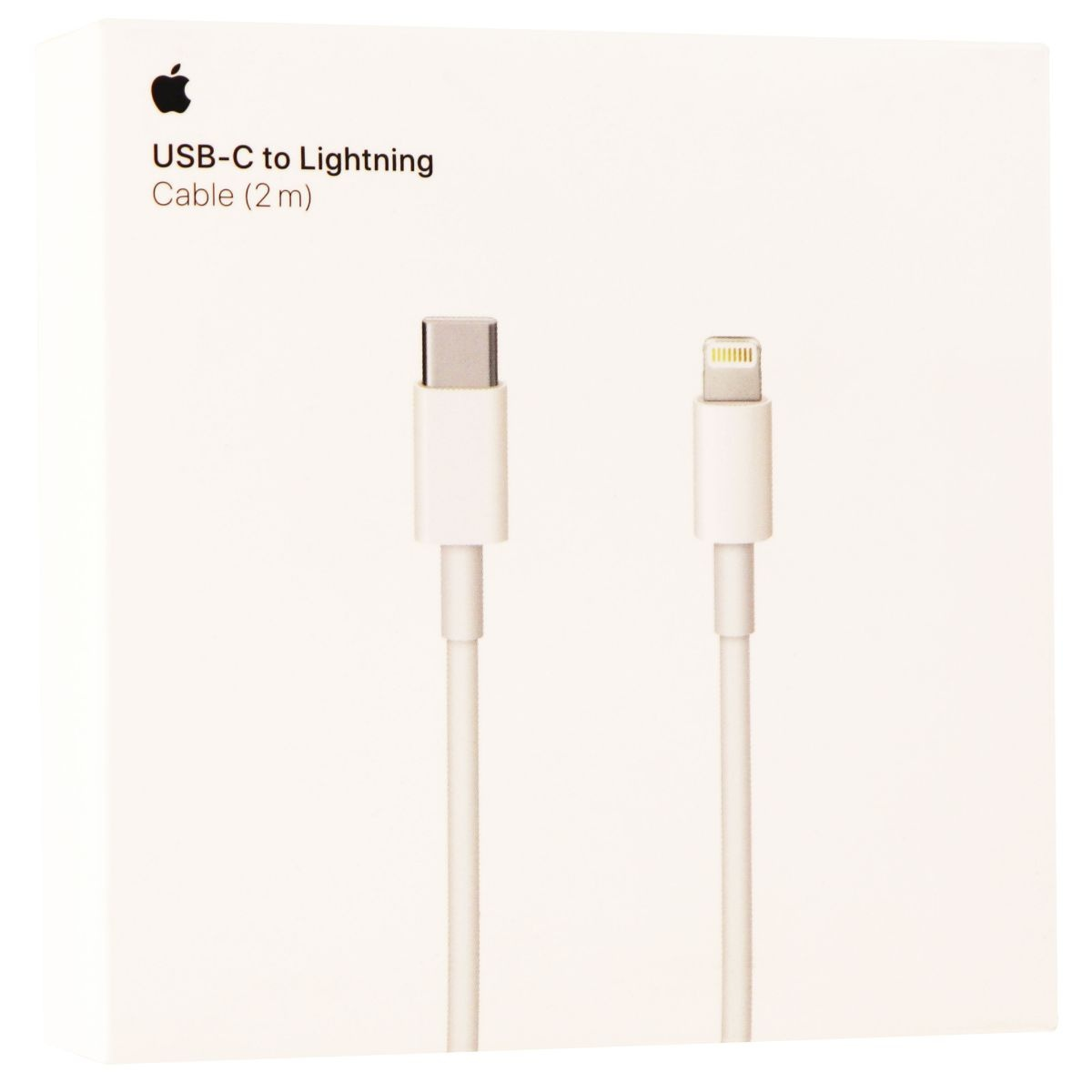 Apple USB Type C to Lightning Cable Data Cable Adapter (2 meter) - White