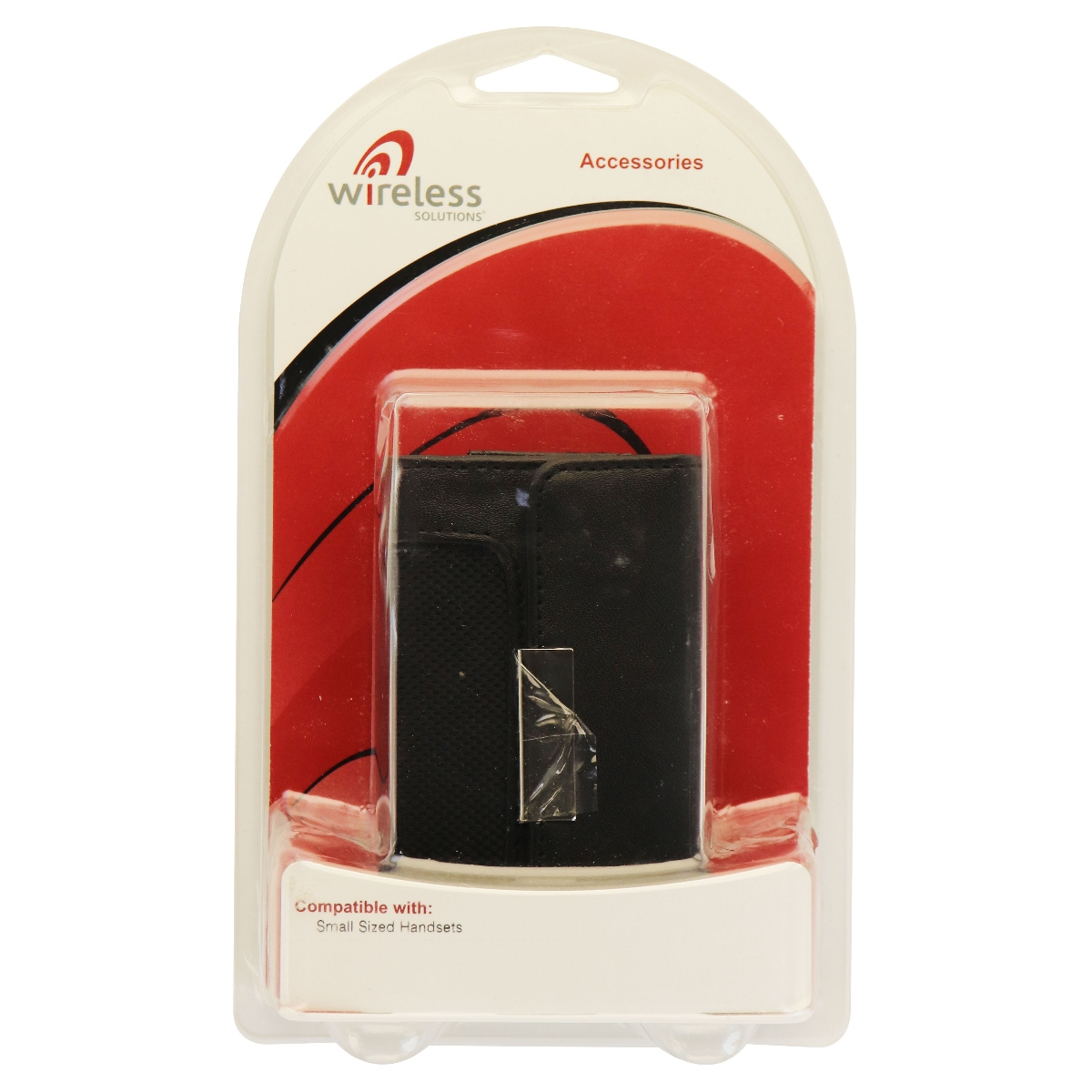 Wireless Solutions Accessories Case Pouch for Small Sized Handsets - Black