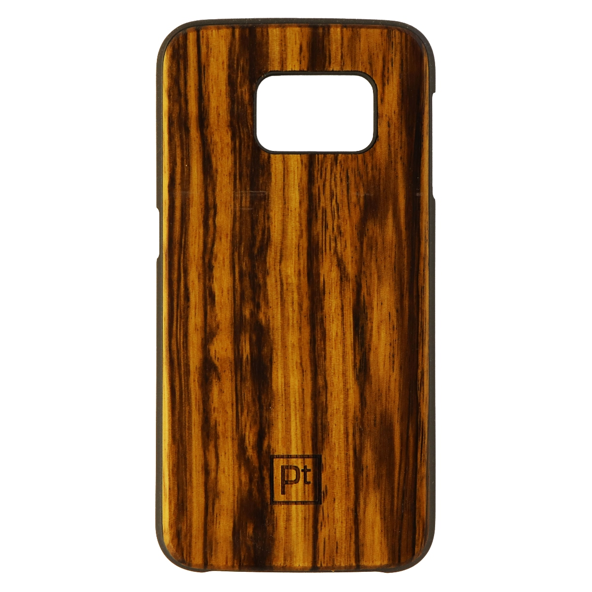 Platinum Natural Wood Series Hardshell Case for Samsung Galaxy S6 Edge - Brown