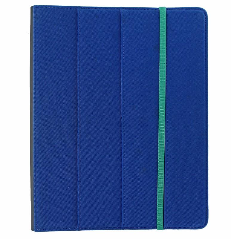 M-Edge Trip Jacket Folio Case Cover for Apple iPad 2/3/4 - Cobalt Blue/Teal