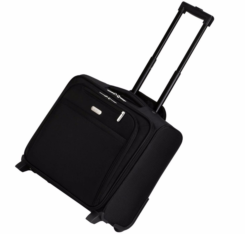 Targus Rolling Overnighter/Laptop Case for 15.6-Inch Laptops - Black