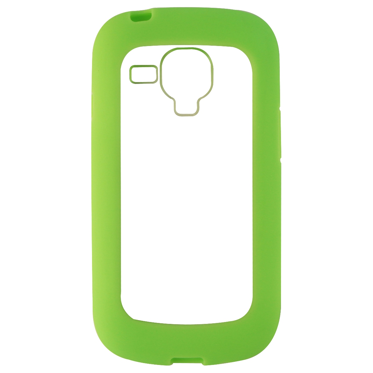 NuClear Gravity Series Hybrid Case for Samsung Galaxy S3 Mini - Clear/Green
