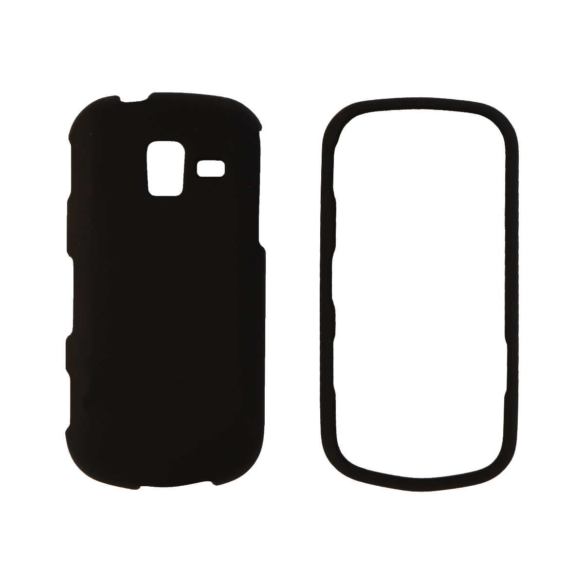 Z Wireless Soft Shell Protective Case Cover for Samsung U485 - Black