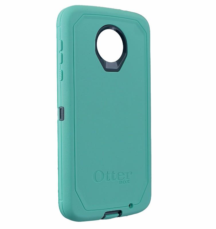 OtterBox Defender Case for Motorola Moto Z2 Force - Borealis (Tempest Blue/Mint)