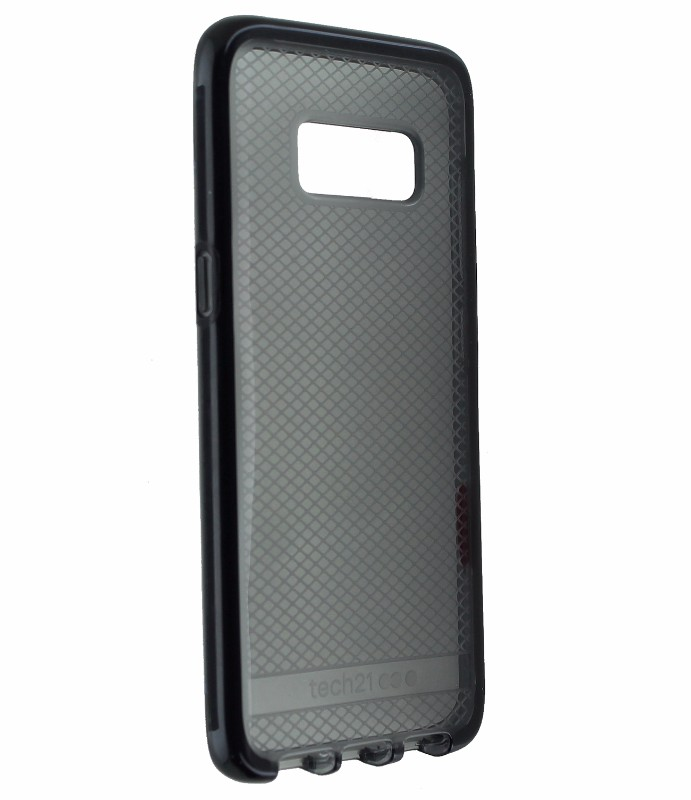 Tech21 Evo Check Tinted Gel Case Cover for Samsung Galaxy S8 - Smoke / Black