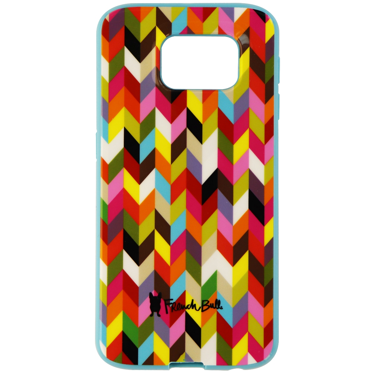 French Bull Soft Protective Gel Case for Samsung Galaxy S6 - Multi-Color / Blue