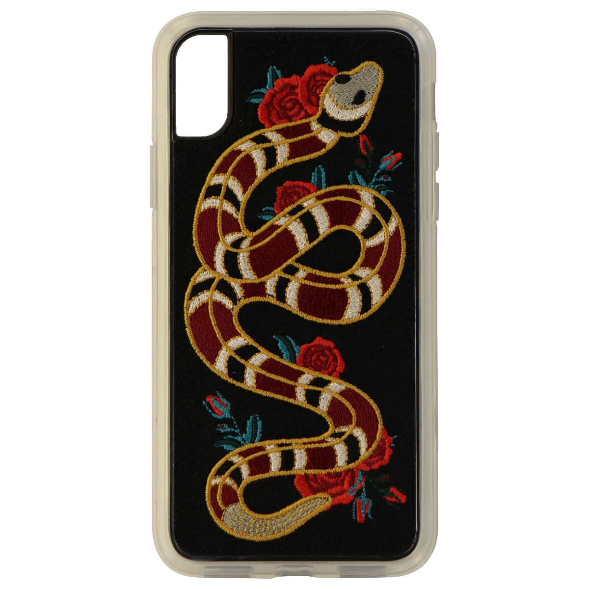 Zero Gravity Series Protective Case Cover for Apple iPhone X 10 - Rattle Snake