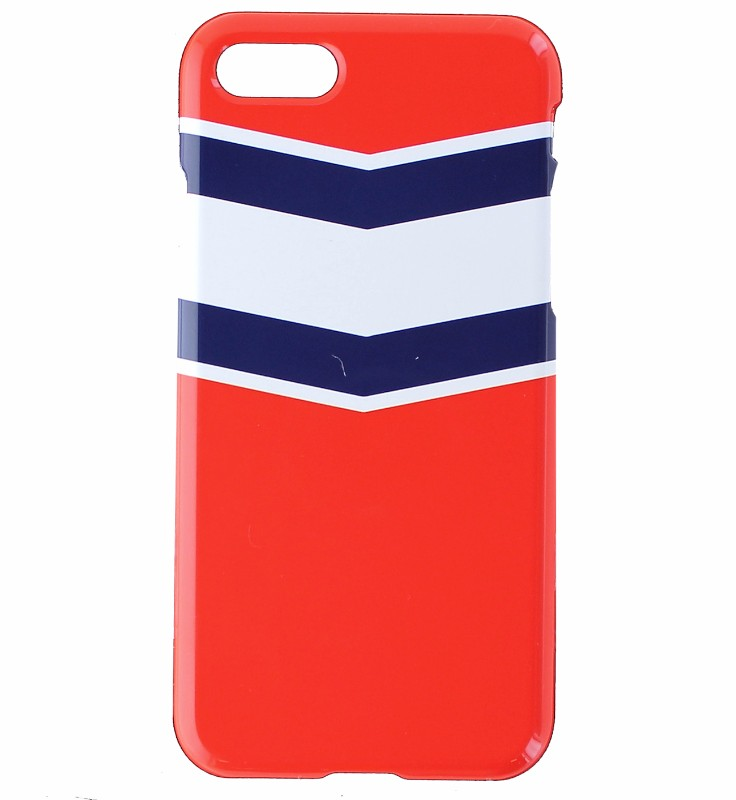 Uncommon Deflector Hard Case Cover for iPhone 8 / iPhone 7  - Red / Blue Strips