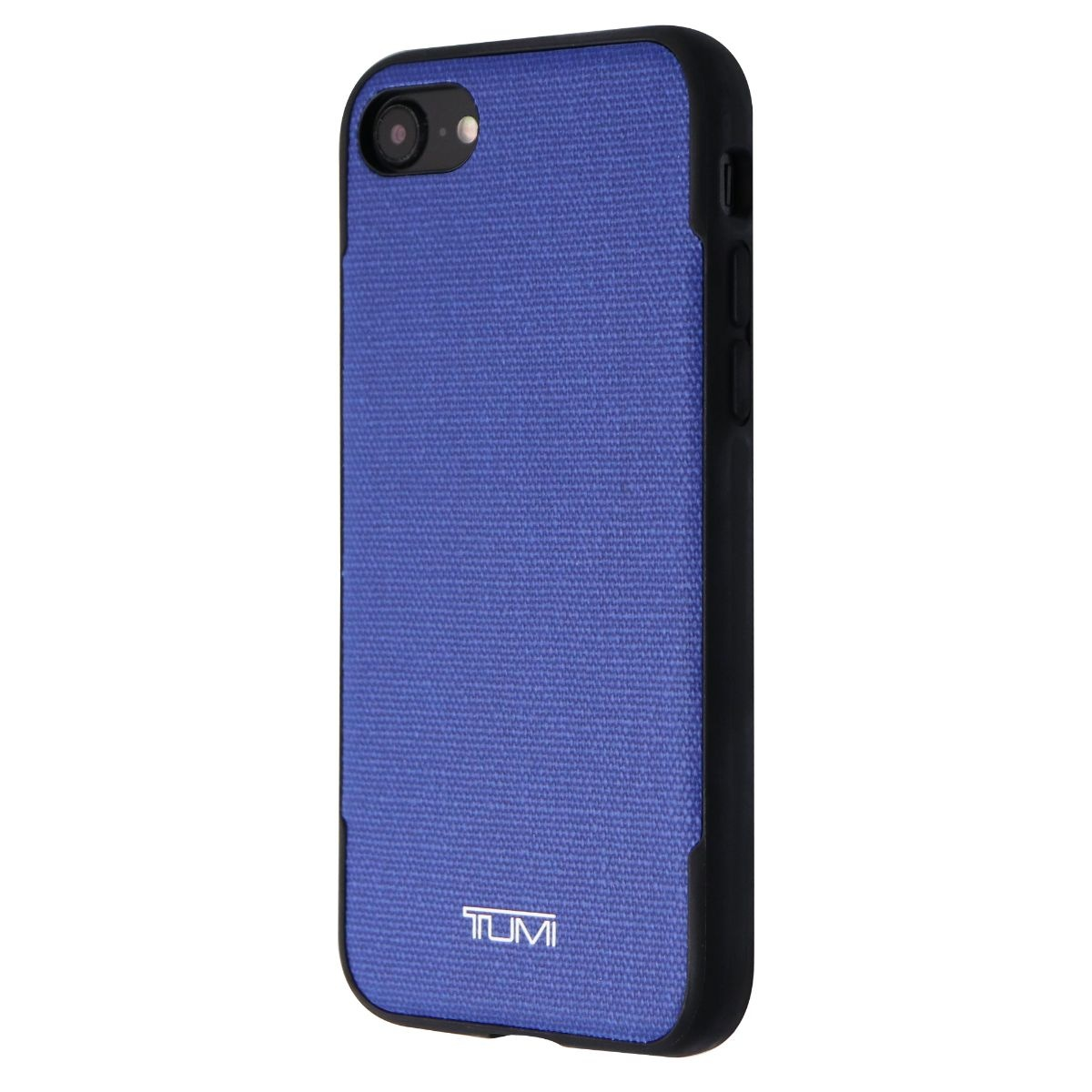 TUMI Coated Canvas Co-Mold Case Cover for Apple iPhone 7 8- Blue Coated Canvas