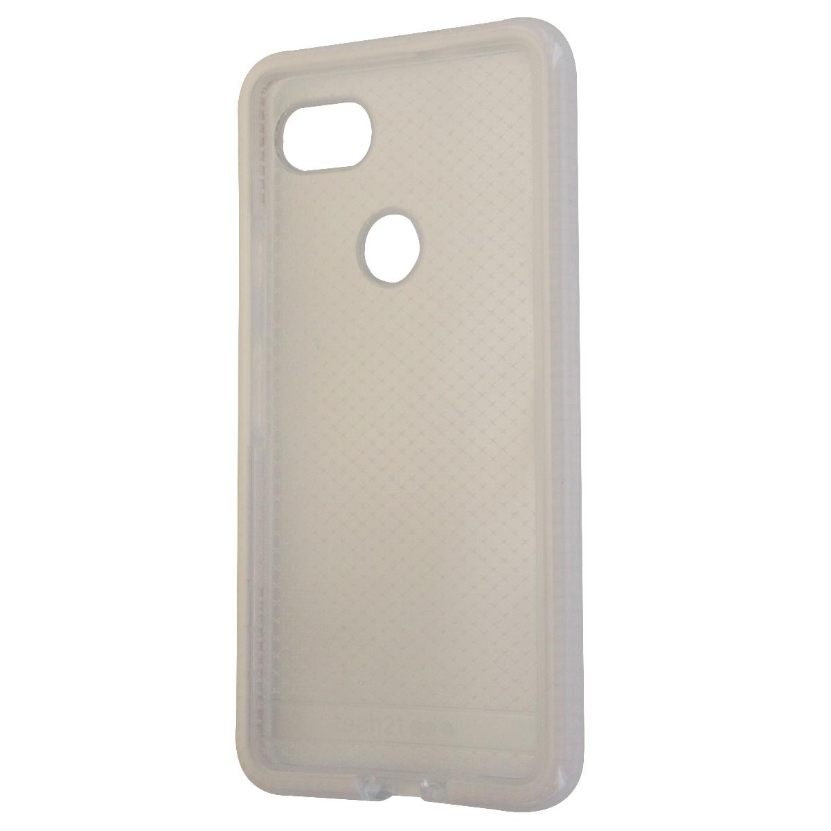 Tech21 Evo Check Series Flexible Gel Case for Google Pixel 2 XL - Clear/White