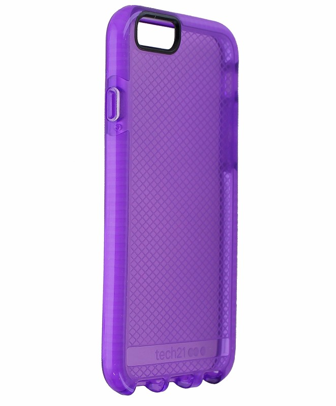 Tech21 Evo Check Slim Lightweight Protective Case Cover iPhone 6 6s - Purple