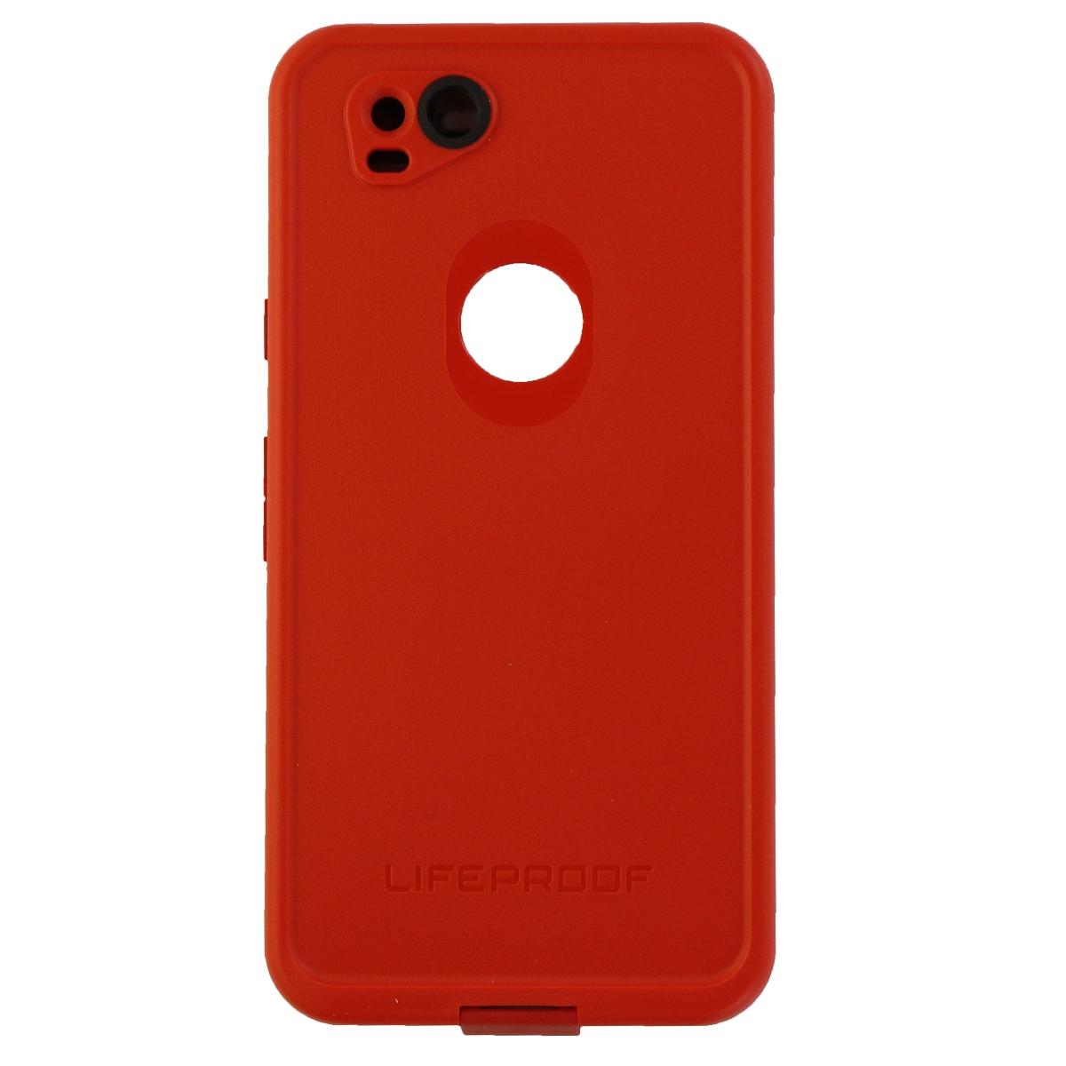 LifeProof FRE Series Waterproof Case Cover for Google Pixel 2 - Red/Gray