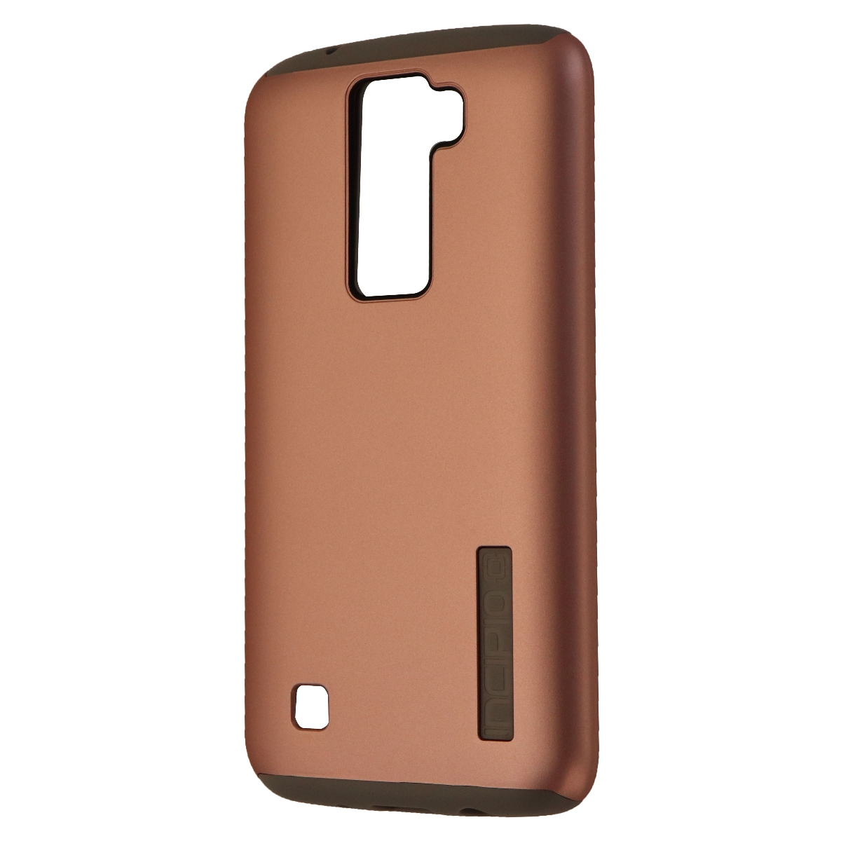 Incipio DualPro Series Dual Layer Case Cover for LG K7 - Pink Rose Gold/Gray