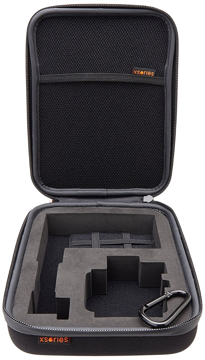 XSories Small Capxule Soft Case with Pre-Cut Foam Inlay for GoPro Cameras -Black