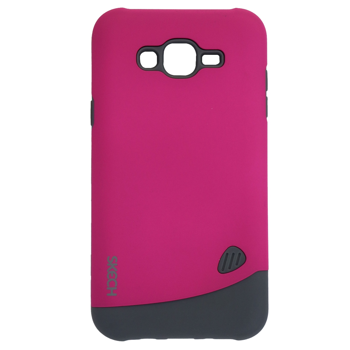 Skech Bounce Series Dual Layer Case Cover for Samsung Galaxy J7 - Matte Pink