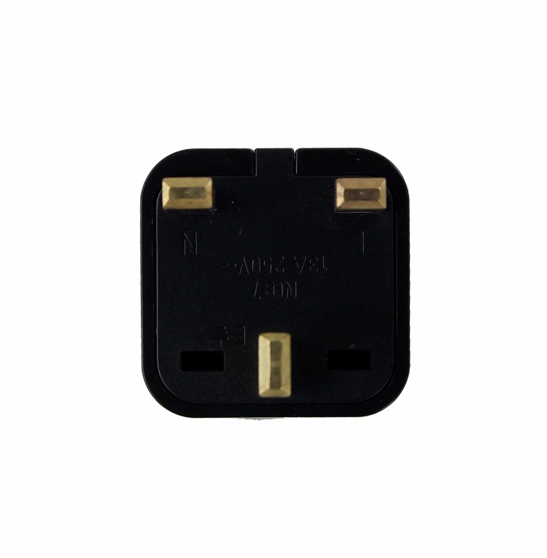 Electricity Travel Adapter Type G Wall Plug for UK IRELAND HK SINGAPORE