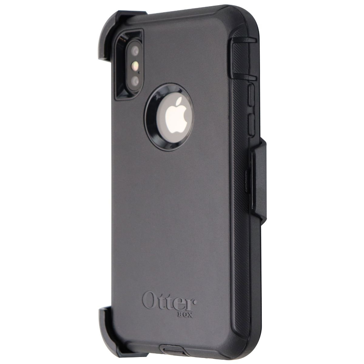 OtterBox Defender Series Screenless Case and Holster for iPhone XS and X - Black