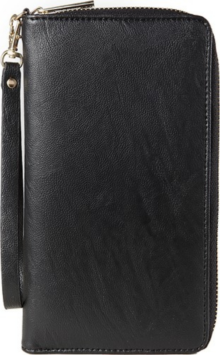 Insignia Clutch Protective Case Cover Pouch Sleeve for Mobile Phones - Black