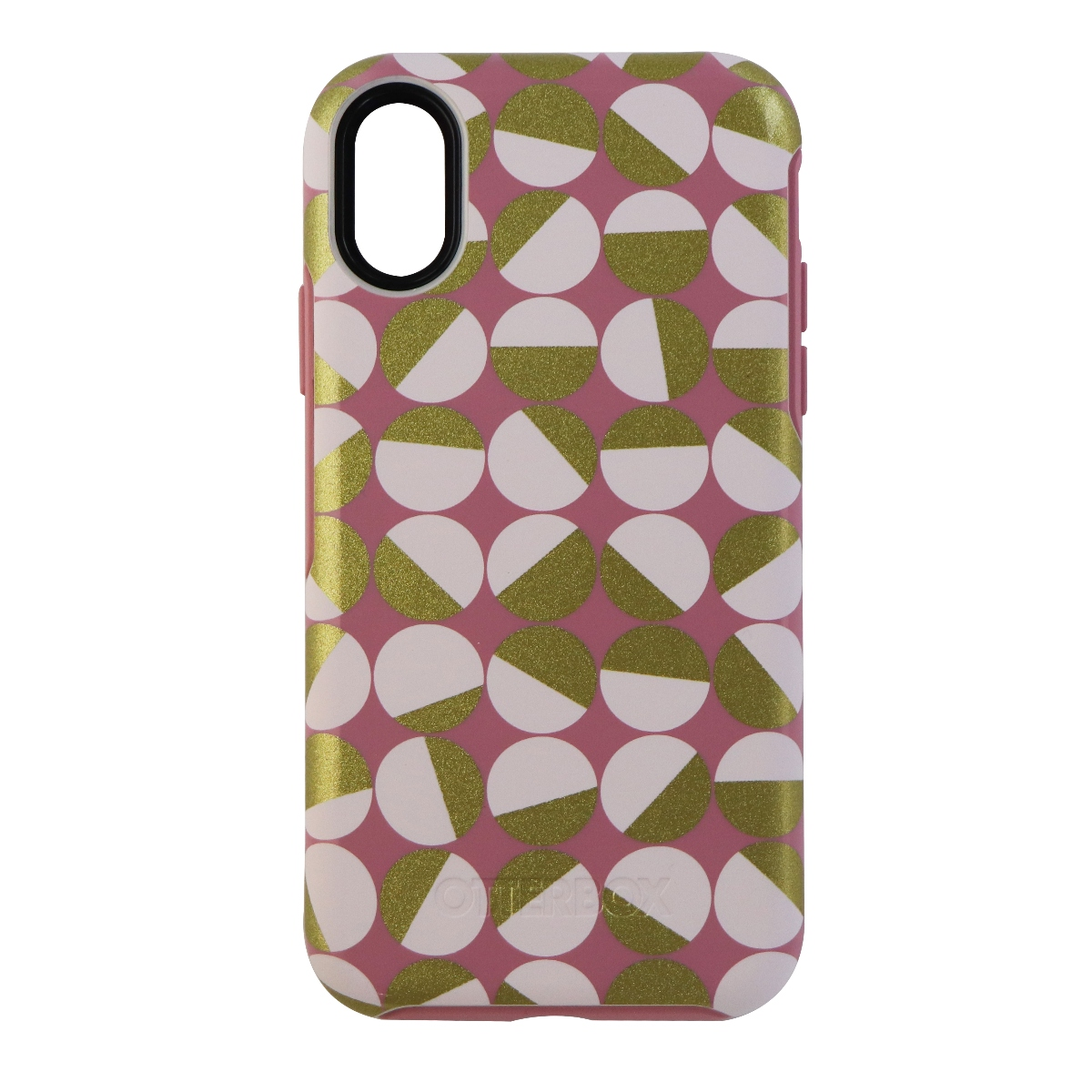 OtterBox Symmetry Series Hybrid Case for Apple iPhone X 10 - Pink Gold White