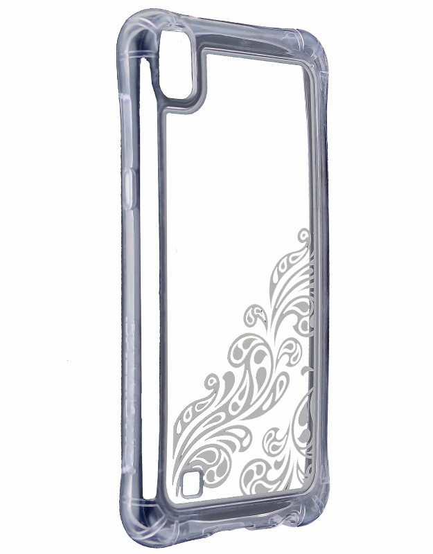 Ballistic Jewel Essence Series Protective Case Cover for LG X Power Clear Silver