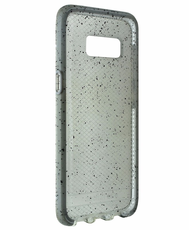 Tech21 Evo Check Active Case Cover For Samsung Galaxy S8 - Clear / Spotted Black